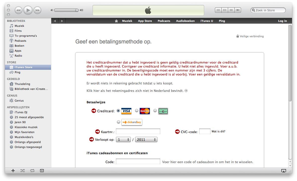 Apple id maken