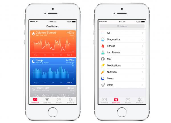 Health in iOS 8