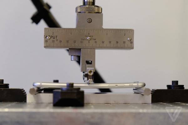 iPhone 6 buigen testlab