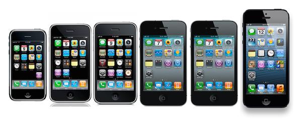 Oude iPhones