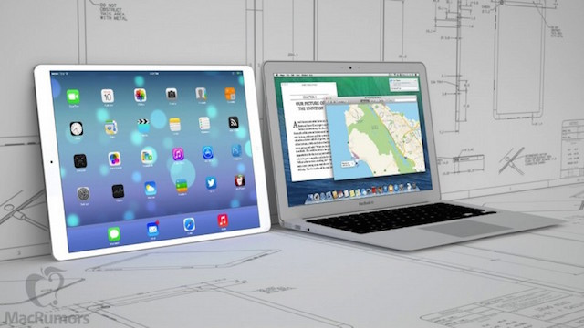 iPad Pro en MacBook Air