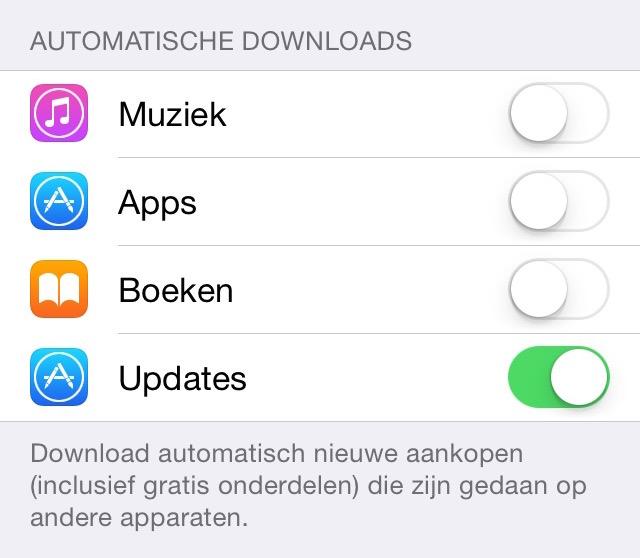 Automatische app-downloads