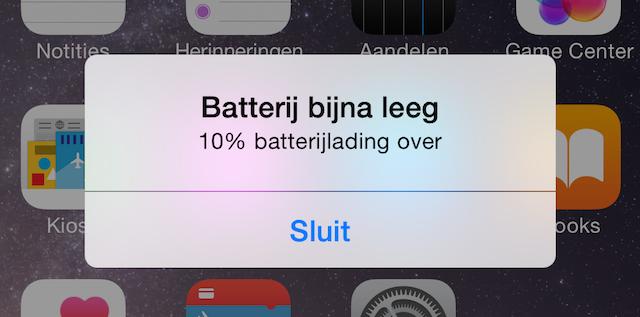 Batterij iPhone iPad