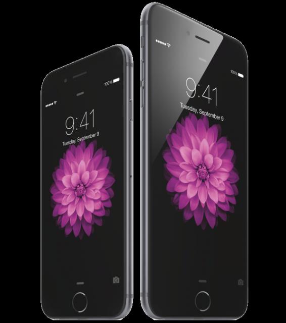 iPhone 6 en 6 Plus
