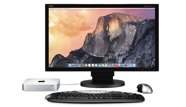 Mac mini desktop