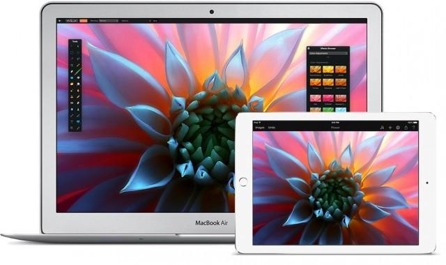 Pixelmator iCloud