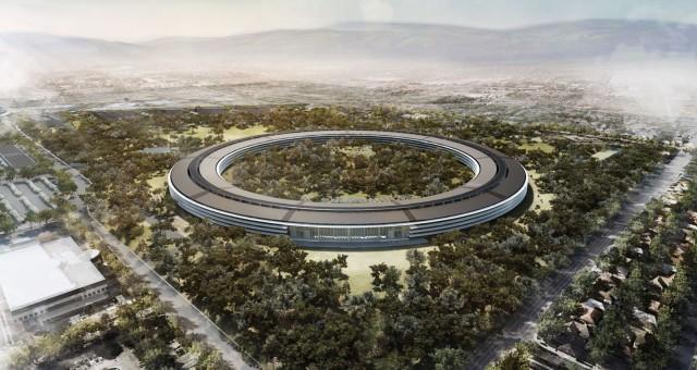 Apple Campus 2 render