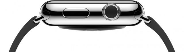Apple Watch knoppen