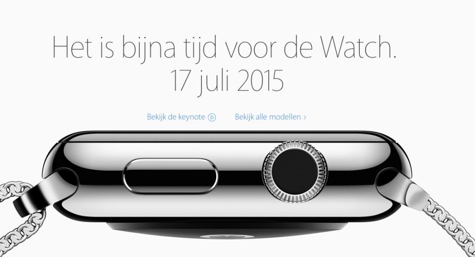 Apple Watch in Nederland