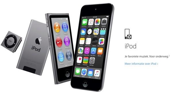Apple Music op iPod