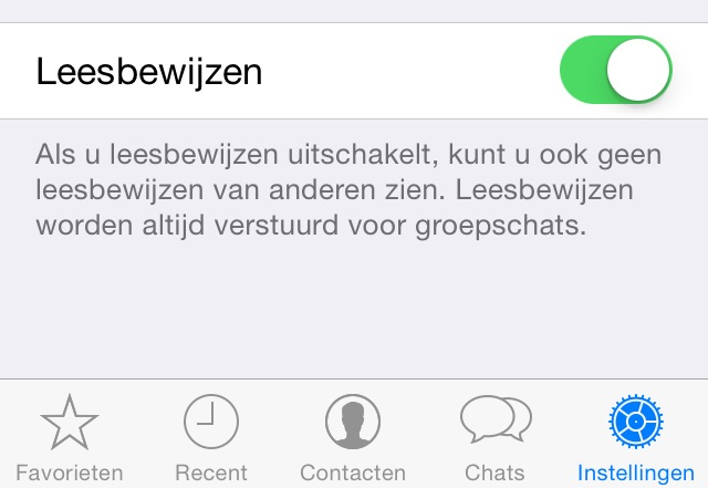 hoe schakel ik laatst gezien uit bij whatsapp