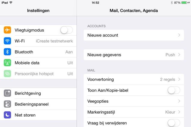 E-mail instellen op iPad in de app Mail - iCreate Magazine
