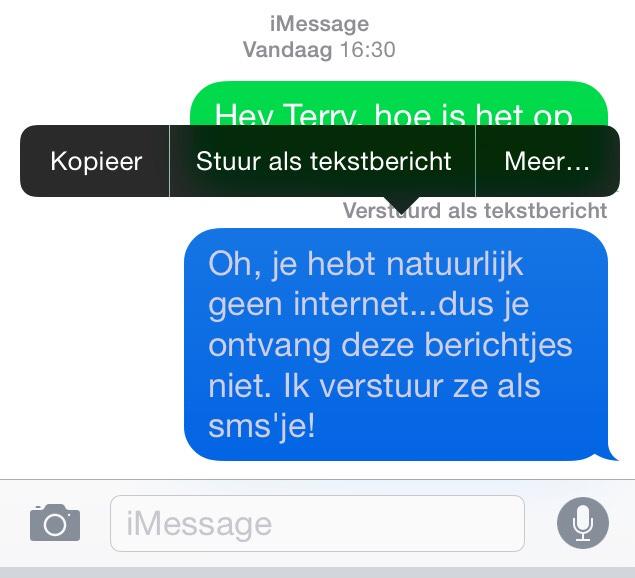 gratis berichten sturen Rotterdam