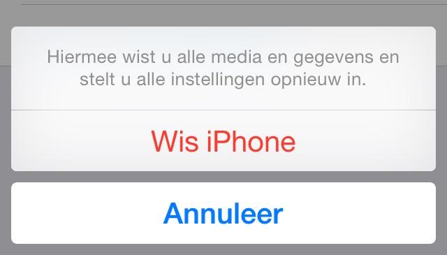 iPhone wissen herstellen