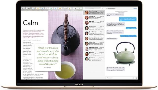 Nieuwe functies in Pages, Numbers en Keynote: multitasken, 3D Touch