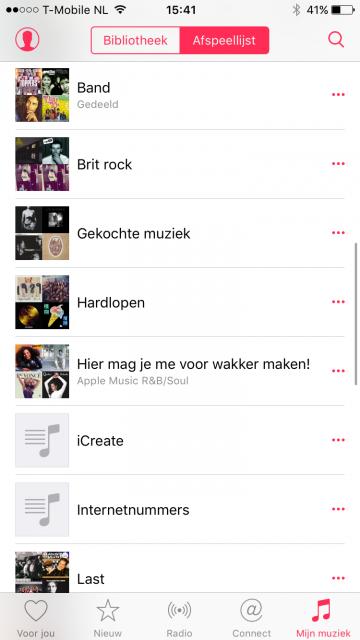 nummers verwijderen ipod