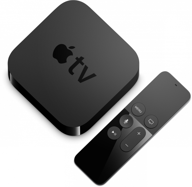 Apple TV met afstandsbediening