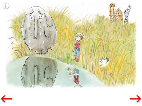De gelukkige olifant