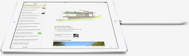 Apple Pencil opladen in iPad Pro