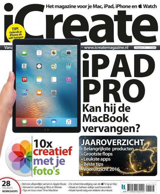 iCreate 74: iPad Pro, fotografie en jaaroverzicht