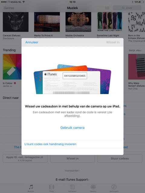 Apple ID aanmaken