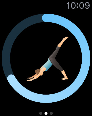Pocket Yoga Apple Watch