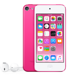 Roze iPod touch