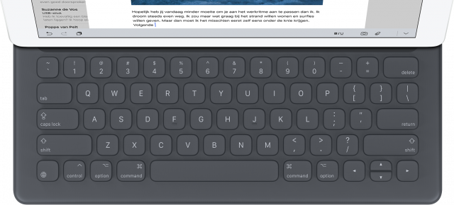 smart keyboard-top