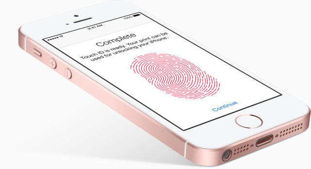 iPhone SE met Touch ID