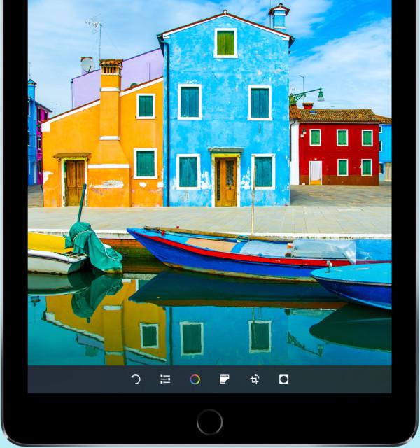 9,7-inch iPad Pro met True Tone-scherm