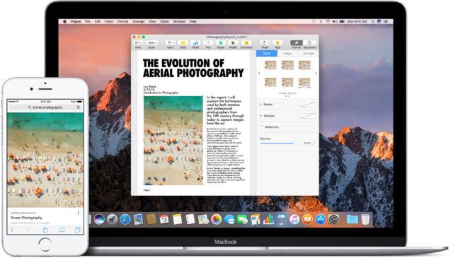 Clipboard macOS Sierra