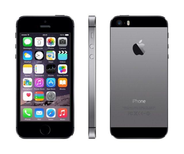 iphone 5s spacegrijs