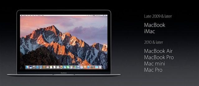 macOS Sierra compatibel