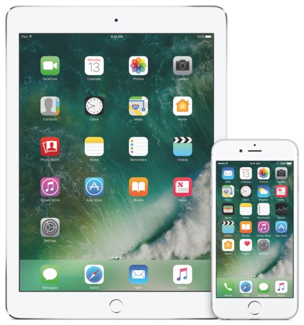 Thuisscherm iOS 10