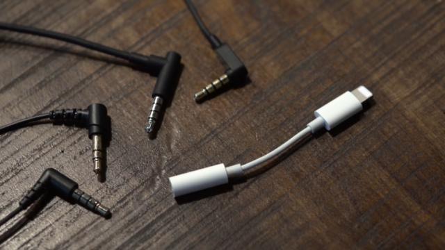 koptelefoon-adapter iPhone 7
