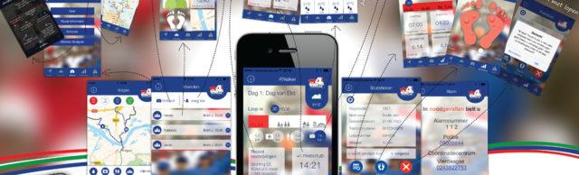 Nijmeegse vierdaagse apps
