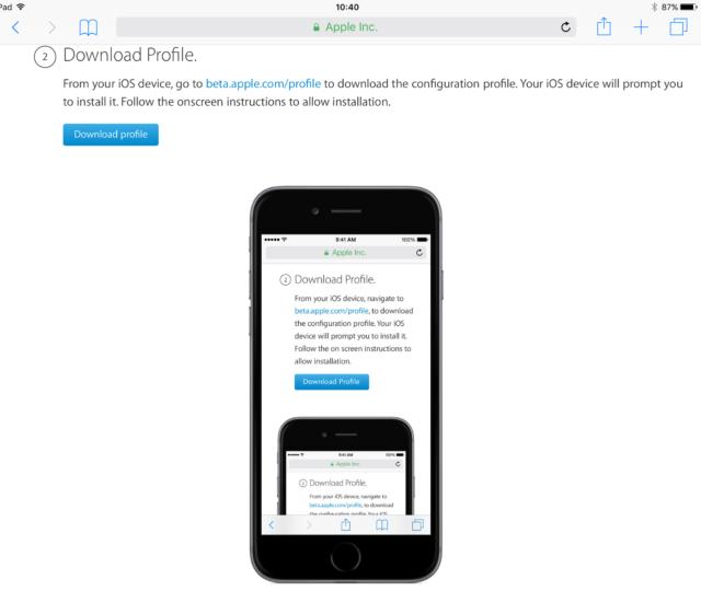 Bèta iOS 10 installeren