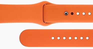 Apple Watch hermès sportbandje