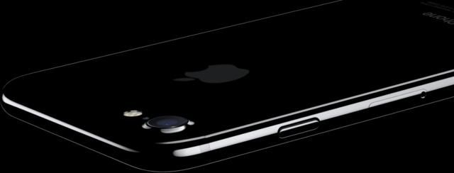 gitzwarte iPhone 7