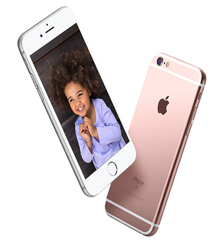grootte scherm iphone 6