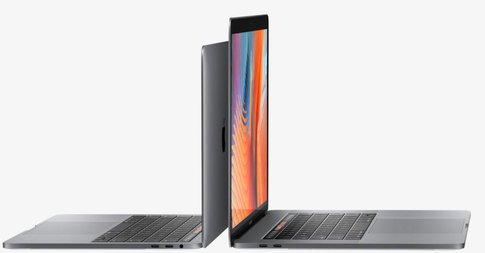 Zijkant MacBook Pro