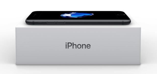 Verpakking iPhone 7