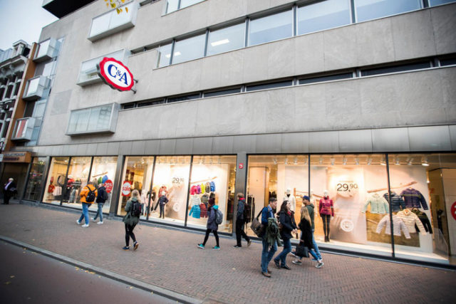C&A Utrecht nieuwe pand Apple