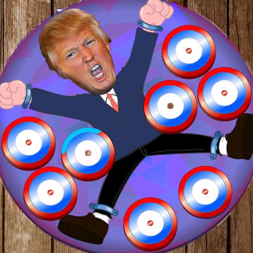 Donald Trump dartwheel dart apps