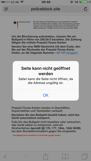 Ransomware iOS