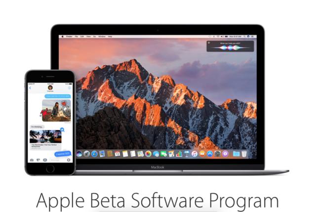 bèta, iOS, macOS, watchOS, tvOS