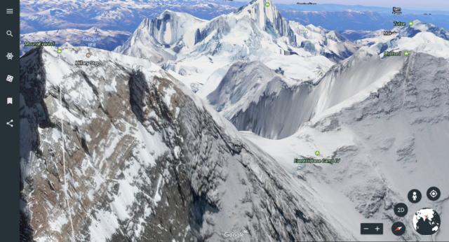 Nieuwe functies van Google Earth