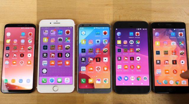 Snelheidstest iPhone Android