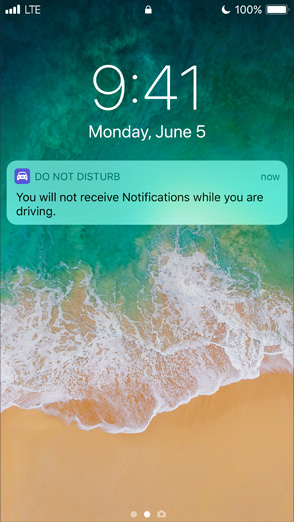 iOS 11 autorijden
