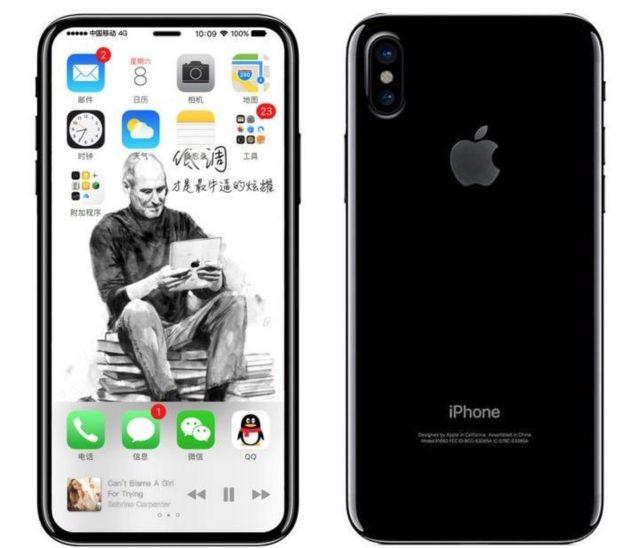 iPhone 8 concept dubbele camera
